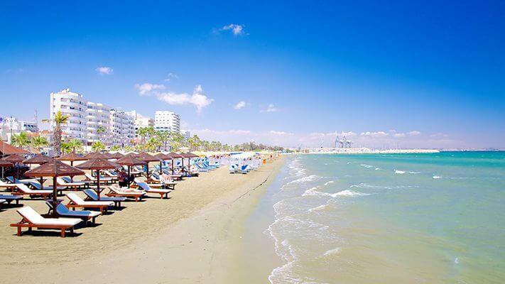Du lịch đảo Síp đến Larnaca