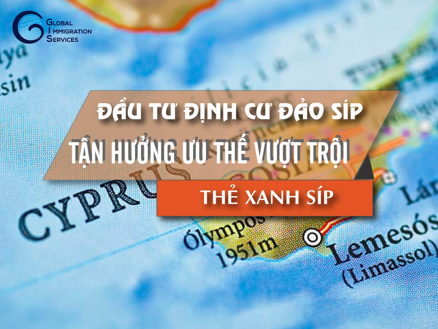đầu tư định cư đảo Síp