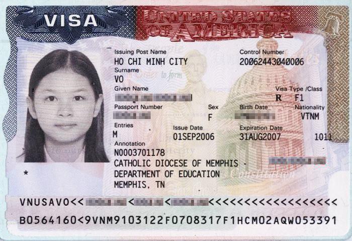 Hồ sơ xin visa Mỹ