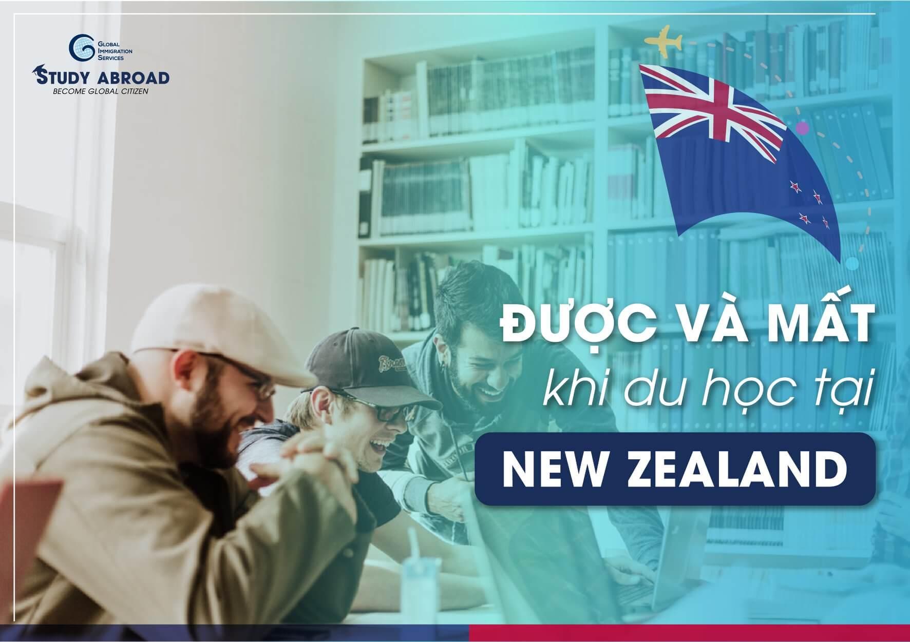 Du học New Zealand được gì và mất gì?